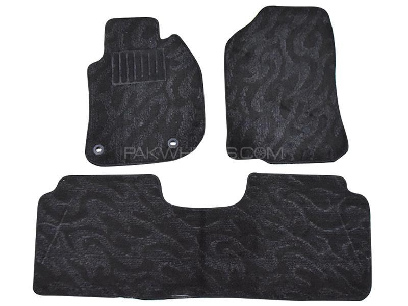 Toyota Floor Mats >> Buy Carpet Floor Mats For Toyota Corolla 2014 2019 Black In