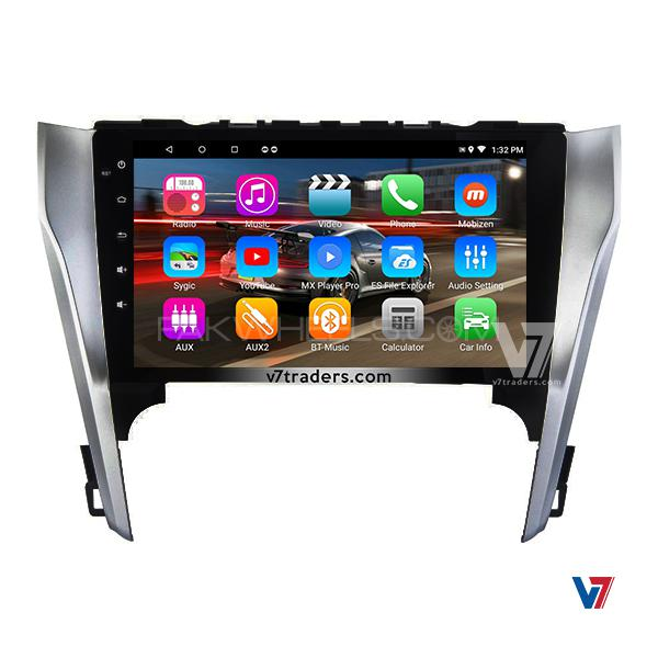 Toyota Camry 2017 15 Android Navigation V7 Multimedia Dvd Player Lcd Screen Gps Map Image