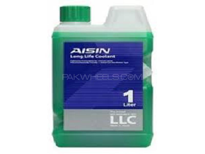AISIN Anti-Freeze Coolant Green - 1 Litre Image-1