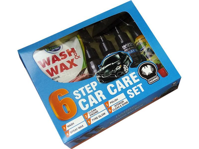 Harris 6 Step Car Care Set  Image-1