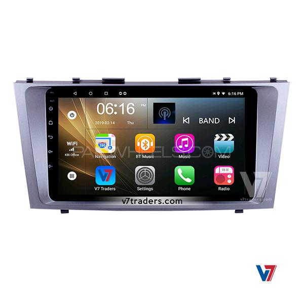 Toyota Camry Android Car V7 Navigation System 11 Screen Image
