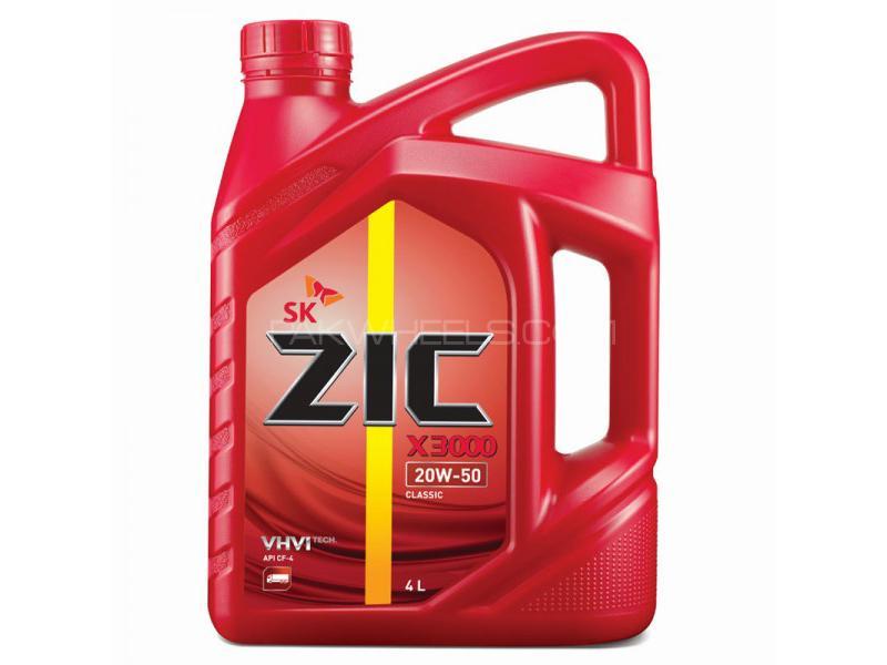 ZIC X3000 20W-50 For Diesel - 4 Litre Image-1