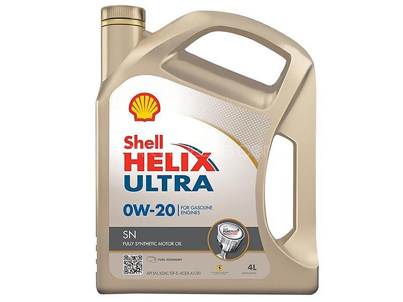 Shell Helix Ultra 0W-20 - 4 Litre Image-1