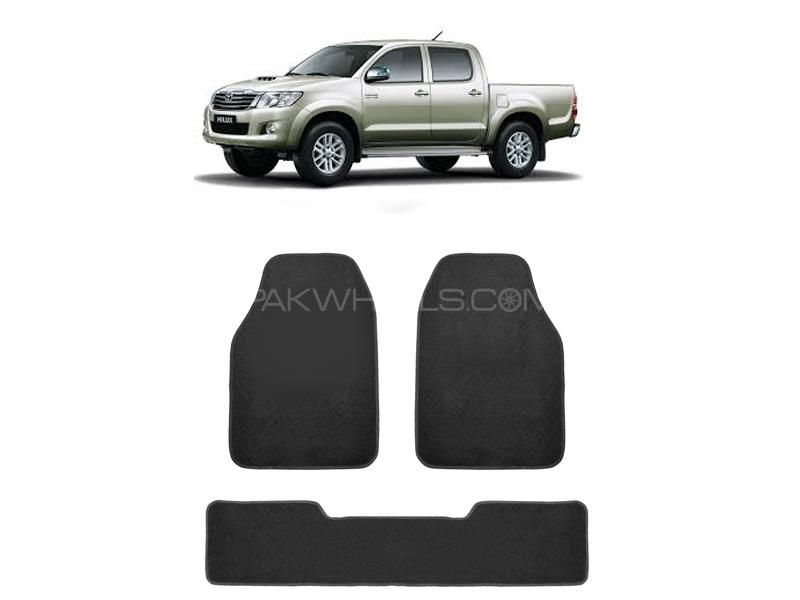 Kenco Carpet Floor Mats For Toyota Vigo Champ Grey 3pcs in Lahore
