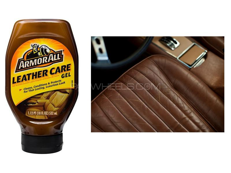 ArmorAll Leather Care Gel 530ml Image-1