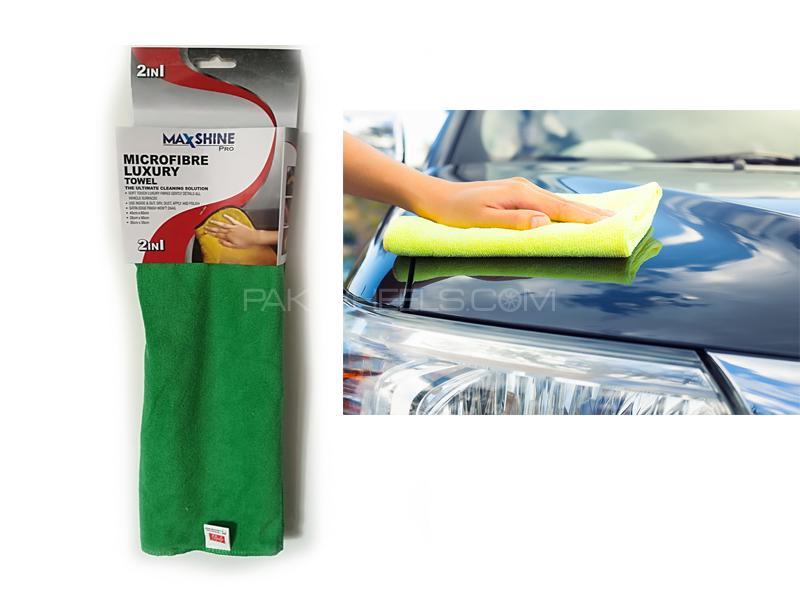 Max Shine Pro Luxury 2in1 Microfiber Towel  Image-1