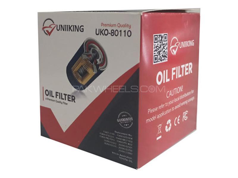 Uniking Oil Filter For Suzuki Mehran 1988-2019 Image-1