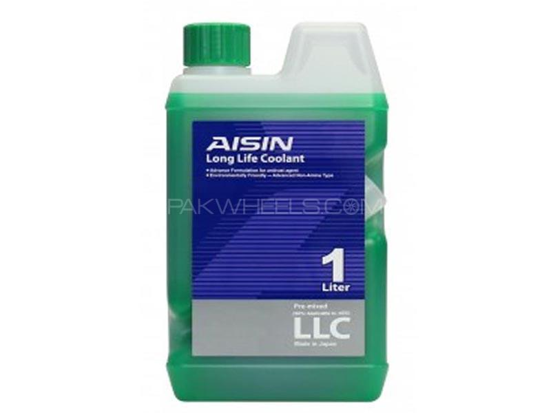 Aisin Long Life Coolant - Green - Made In Japan - 1 Litre Image-1
