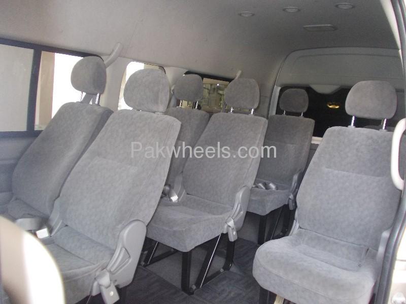 Toyota Hiace Grand Cabin 2008 Image-5
