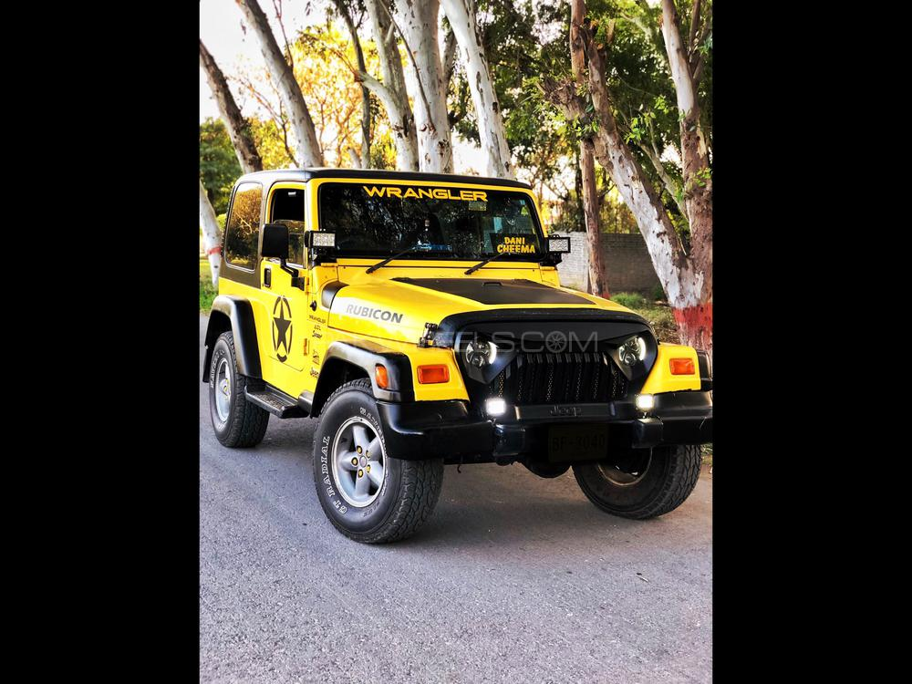 Jeep Wrangler 1990 Image-1