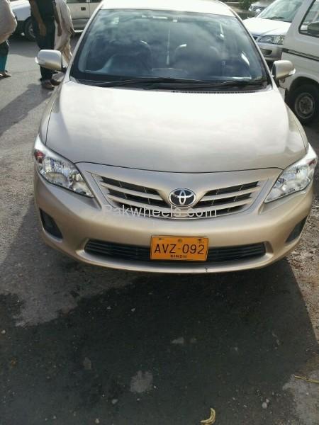 Toyota Corolla GLi Automatic 1.6 VVTi 2011 Image-8
