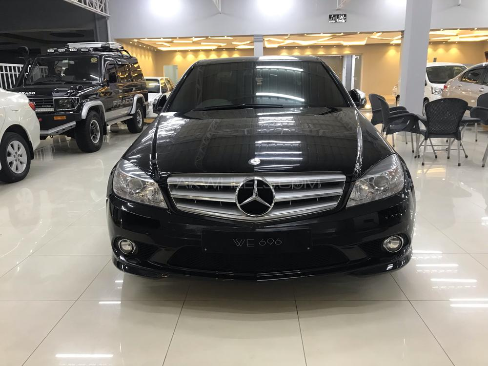 mercedes benz c class c180 2008 for sale in peshawar pakwheels. Black Bedroom Furniture Sets. Home Design Ideas