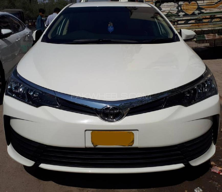 Used Toyota Under 5000: Toyota Corolla XLi VVTi 2018 For Sale In Karachi