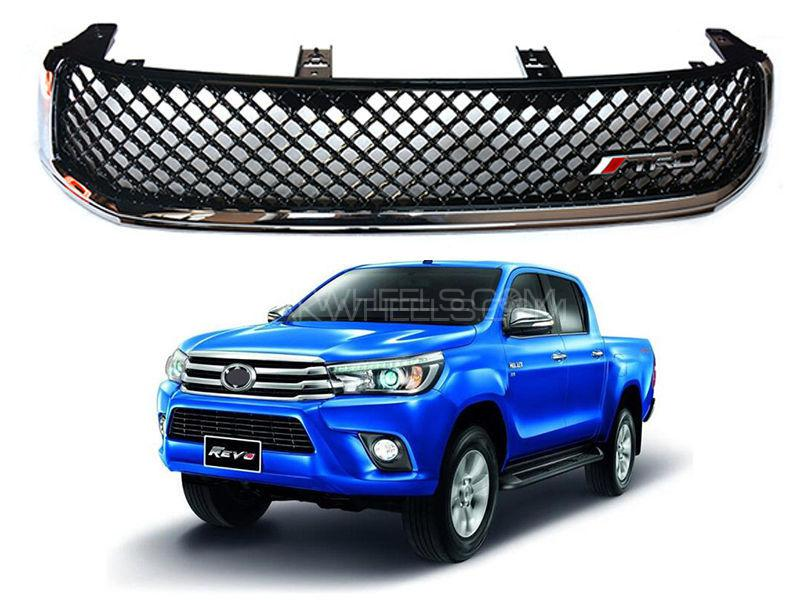 TRD Front Chrome Grill For Toyota Revo 2016-2019 - FA5 Image-1