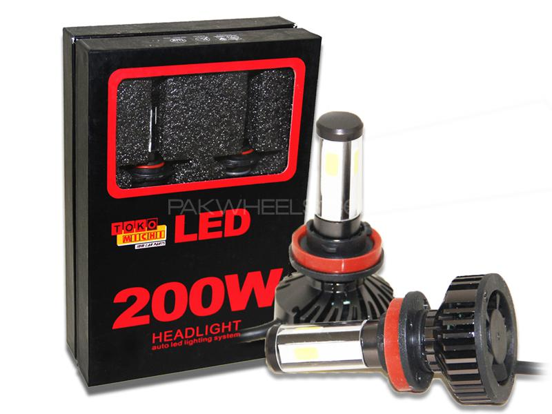 Toko Michi 200w Auto LED Headlight - H11 Image-1