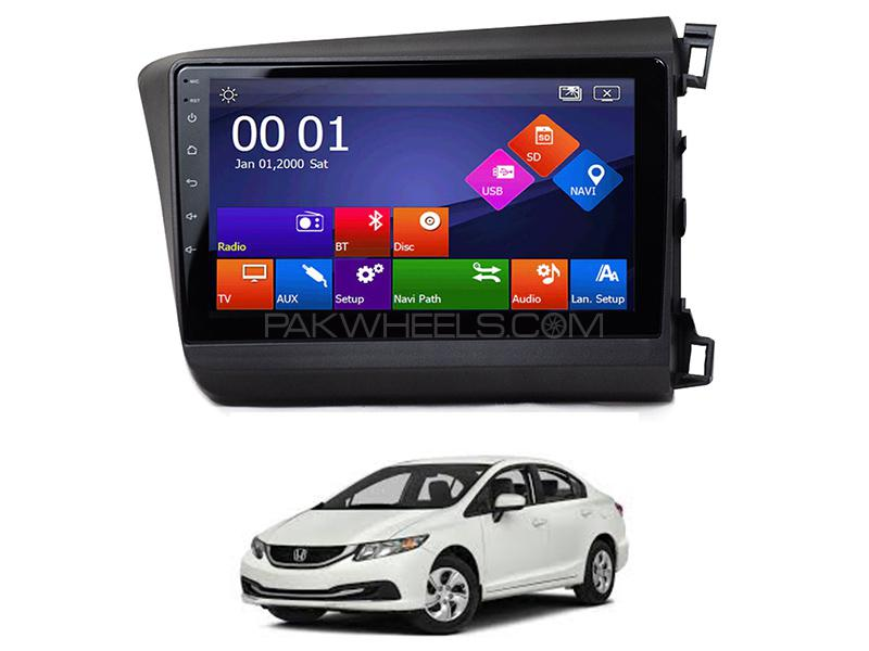 Wellfire Android Player For Honda Civic 2013-2016 Image-1