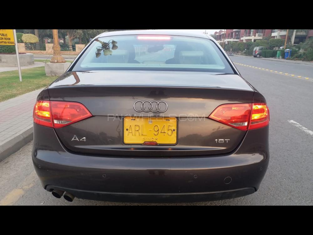 audi a4 1 8 tfsi 2008 for sale in lahore pakwheels. Black Bedroom Furniture Sets. Home Design Ideas