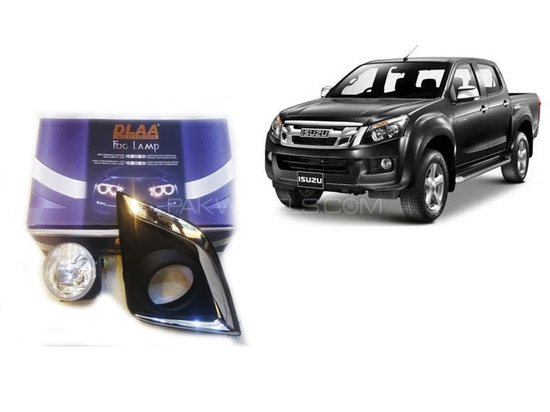 Dlaa Fog Light For Isuzu D-max 2018-2019 in Lahore