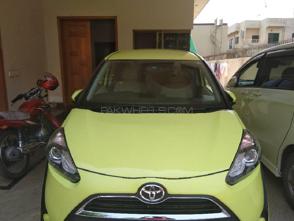 Toyota Sienta X LIMITED 2015 Image-1