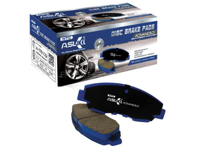 Asuki Advanced Rear Brake Pad For Isuzu Trpooper 1992-2003 - A-4034M AD Image-1