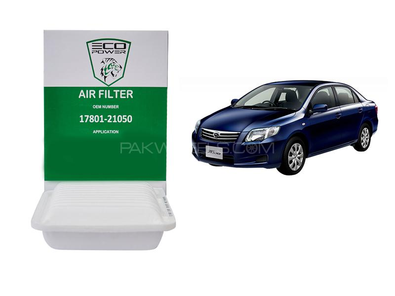 Eco Power Air Filter For Toyota Corolla Axio 2006-2012 in Lahore
