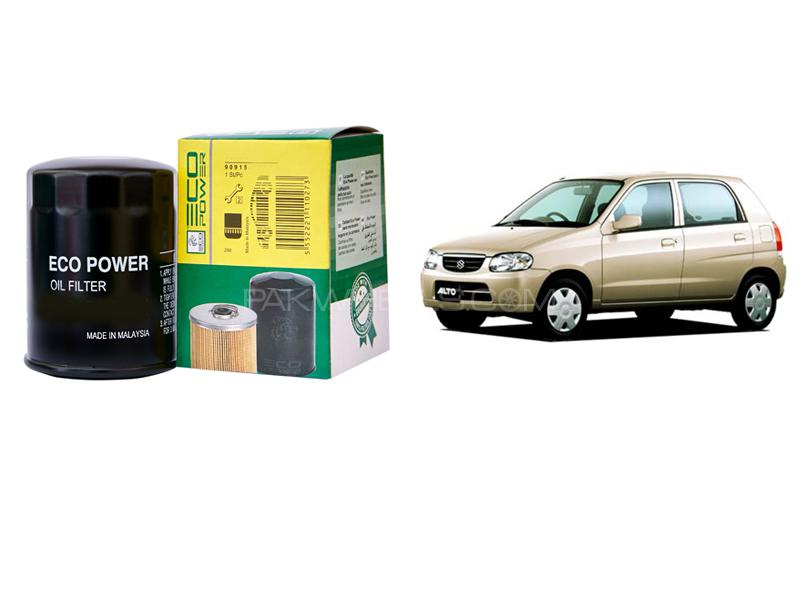 Eco Power Oil Filter For Pak Suzuki Alto 2000-2012 Image-1