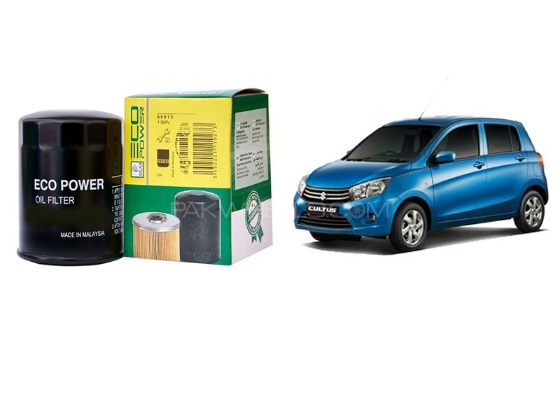 Eco Power Oil Filter For Suzuki Cultus 2014-2019 Image-1