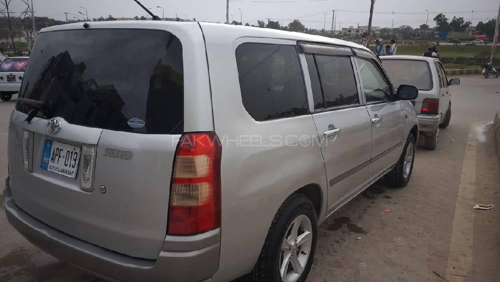 Toyota Succeed TX G Package Limited 2002 Image-1