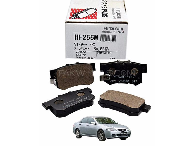 Hitachi Rear Brake Pad For Honda Accord CL 2002-2007 - HF255M Image-1