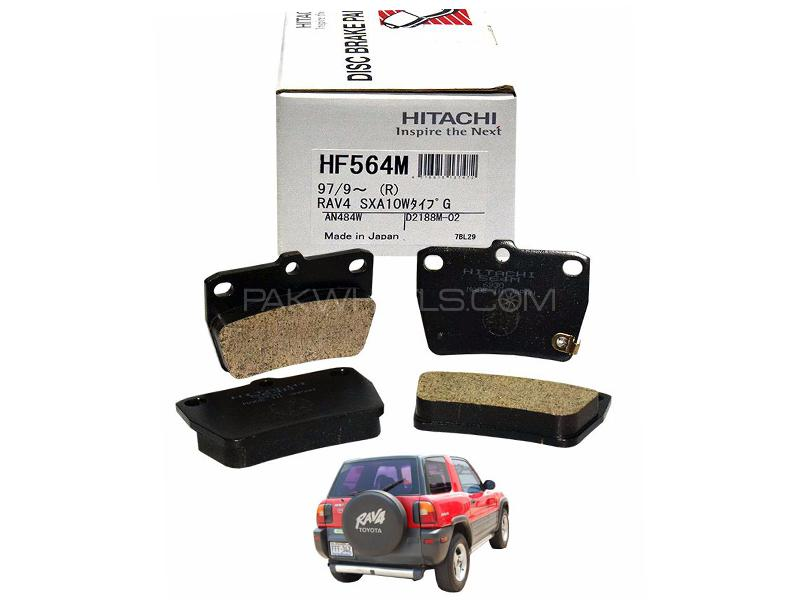 Hitachi Rear Brake Pad For Toyota Rav 4 1996-2000 - HF564M in Lahore