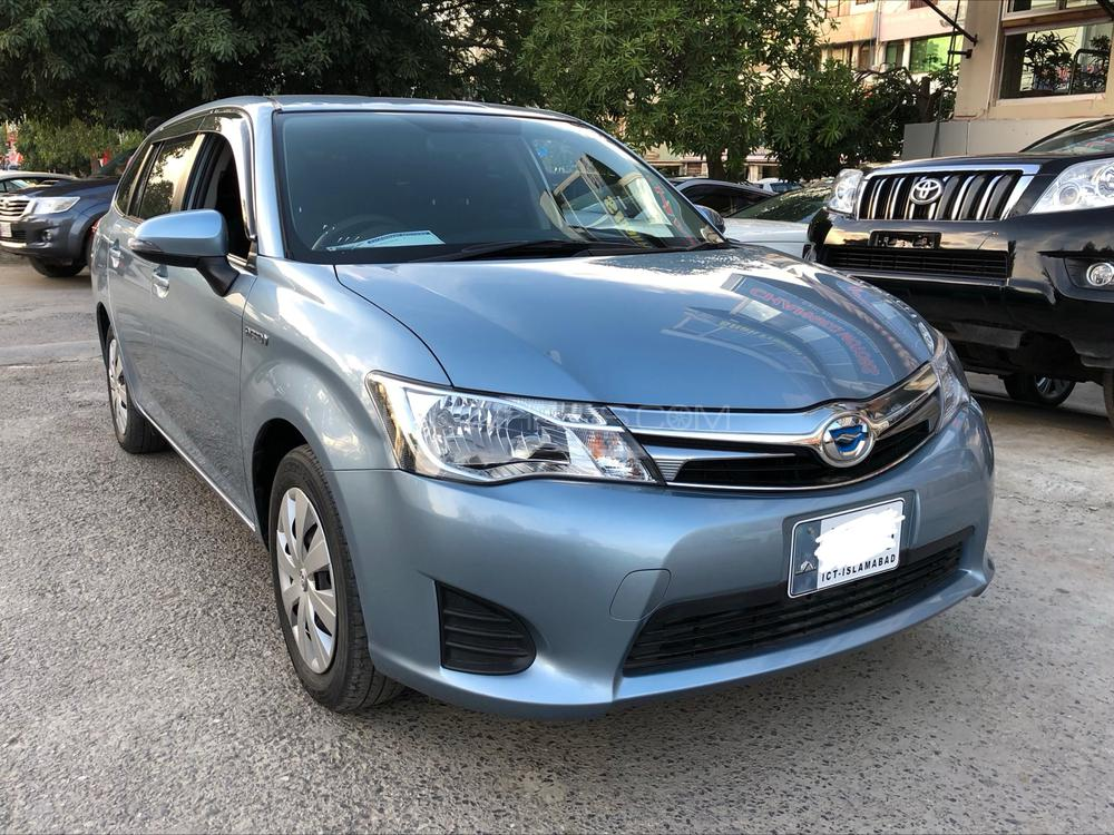 Toyota Corolla Fielder X 2014 Image-1