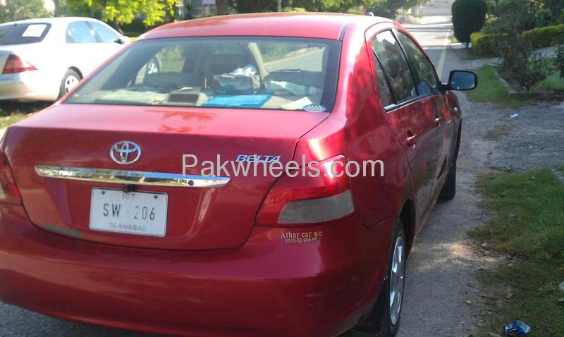 Toyota Belta 2008 Image-3