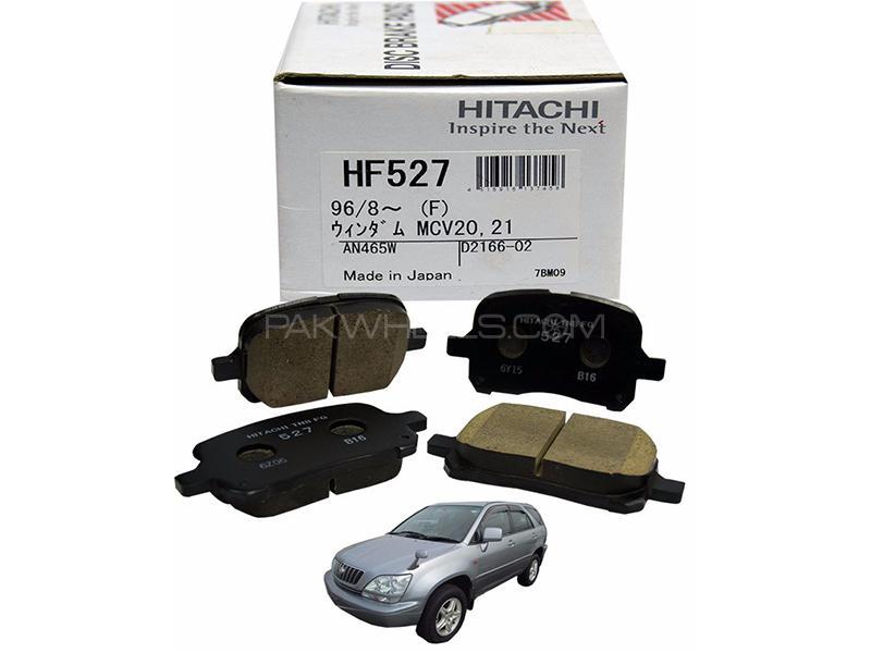 Hitachi Front Brake Pad For Toyota Harrier 1997-2000 Sxu15- HF527 Image-1
