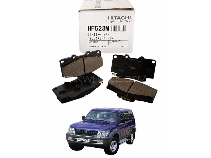 Hitachi Front Brake Pad For Toyota Prado 1996-2001 - HF523M Image-1