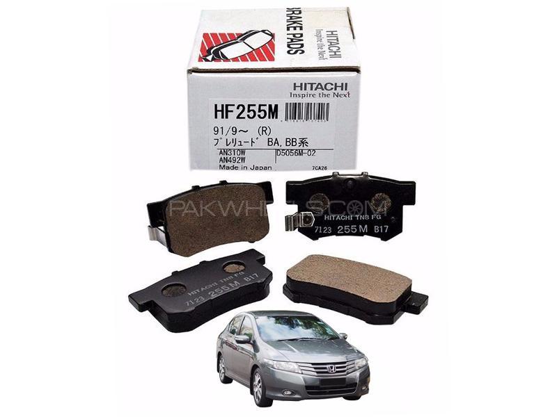 Hitachi Rear Brake Pad For Honda City 2009-2012 - HF255M Image-1