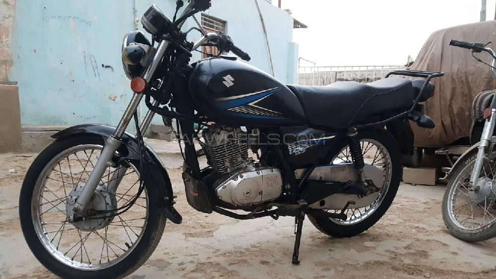 Used Suzuki GS 150 2015 Bike for sale in Karachi - 244678 | PakWheels