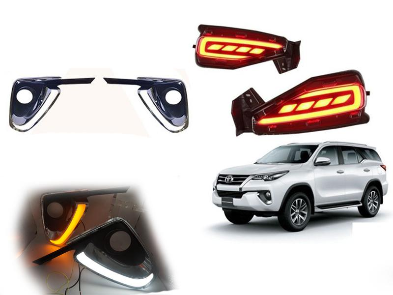 Drl Combo For Toyota Fortuner 2017-2019 Image-1