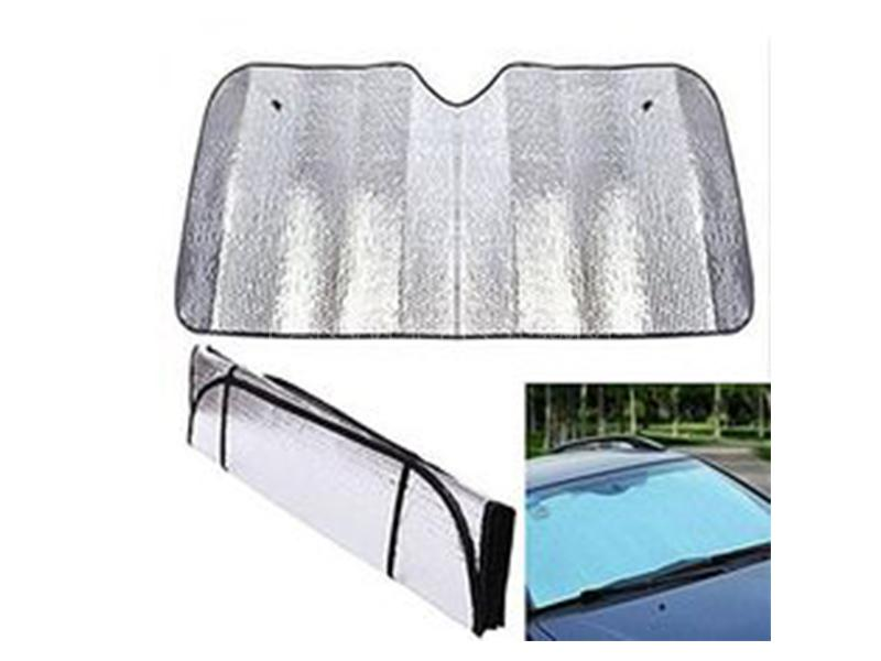 Universal Car Reflector Protector Sun Shade Image-1