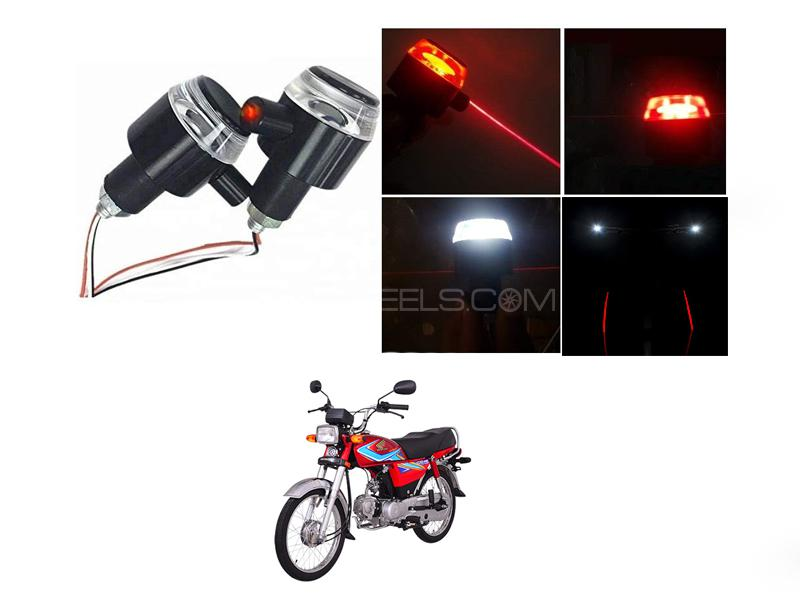 Handle Grip Light With Laser For Cd70 in Lahore