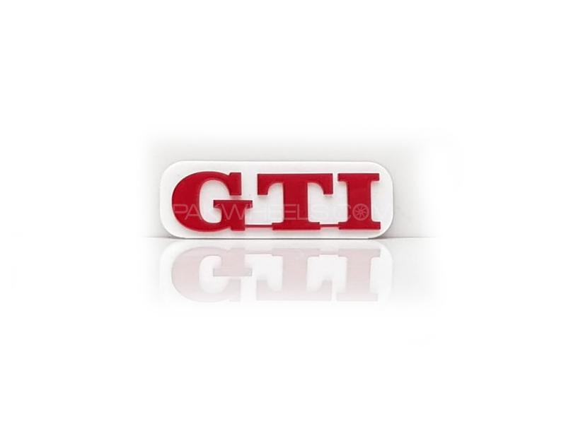 Gti Plastic Pvc Emblem Image-1