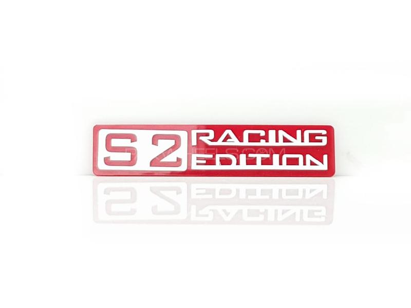 Racing Edition Red Plastic Pvc Emblem in Lahore