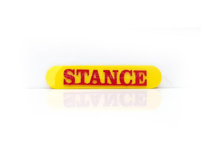 Stance Plastic Pvc Emblem Image-1