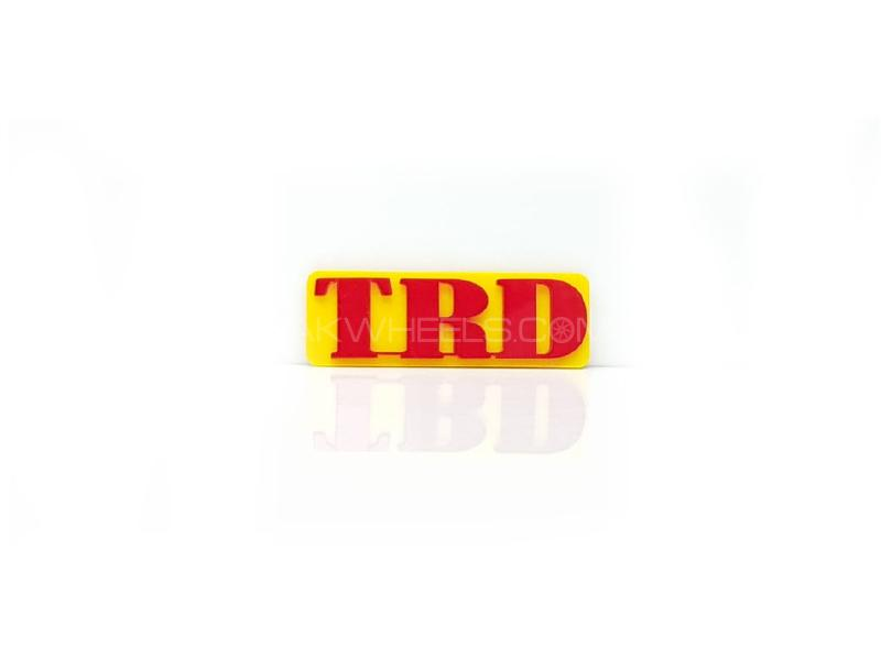 Trd Plastic Pvc Emblem Image-1