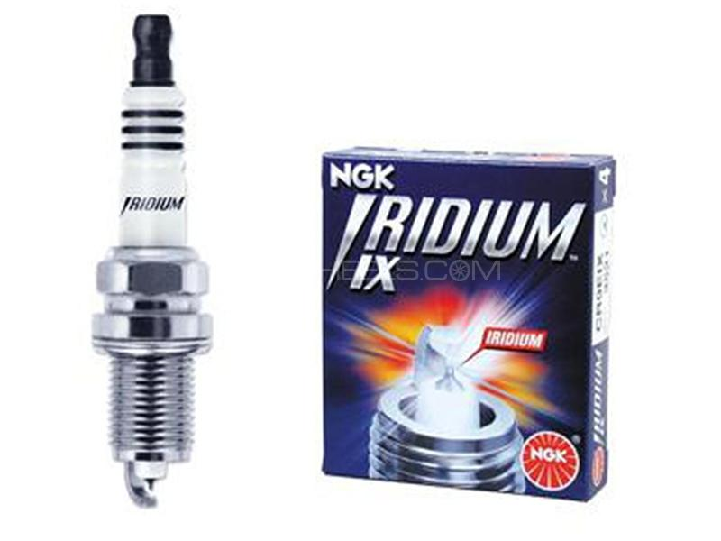 NGK Iridium Spark Plug For Daihatsu Move 2012 SILZKR7B-11 - 4 Pcs Image-1