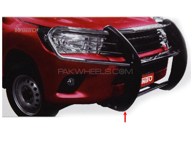 Grill Guard For Toyota Revo 2016-2019 - Full in Karachi