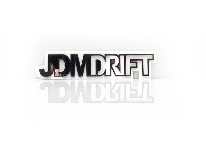 Jdm Drift Plastic Pvc Emblem Image-1