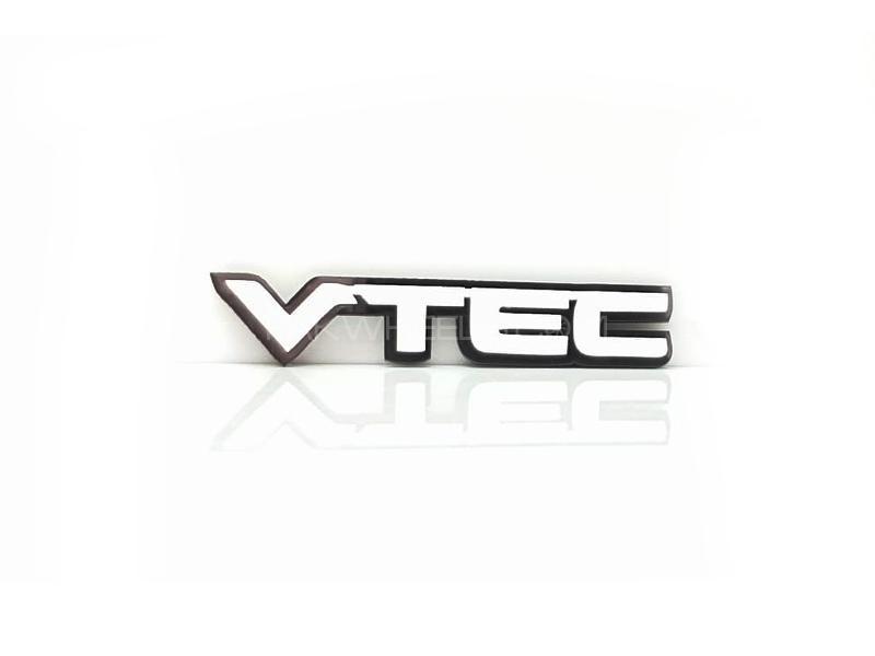 Vtec Plastic Pvc Emblem Image-1