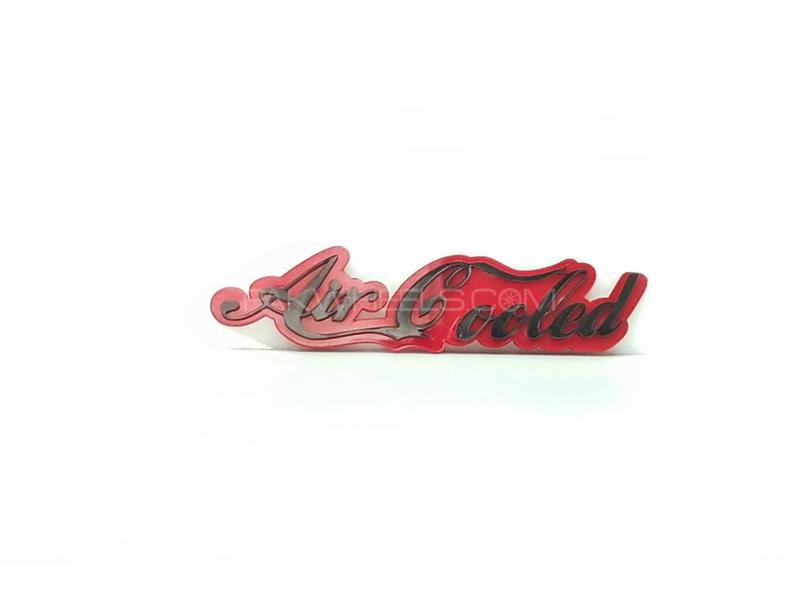 Air Cooled Plastic Pvc Emblem Image-1