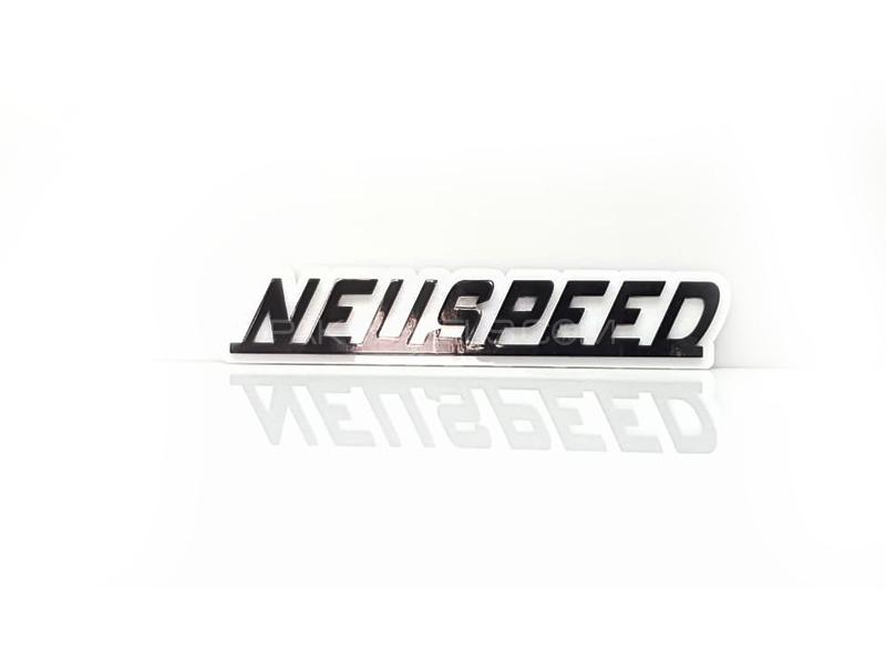 NeuSpeed Plastic Pvc Emblem Image-1