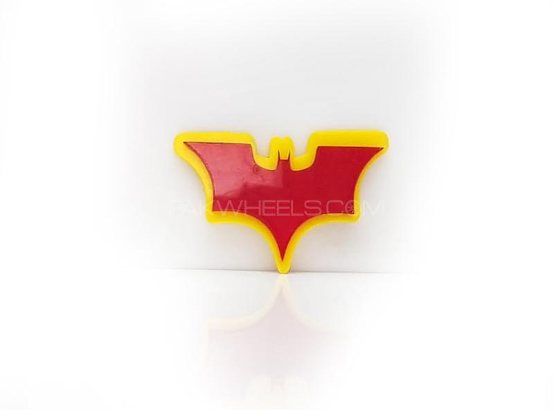 Batman 2 Plastic Pvc Emblem Image-1